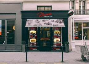 Mcansie Street Food and Bar graphical art work design and pritable- Vadon Design