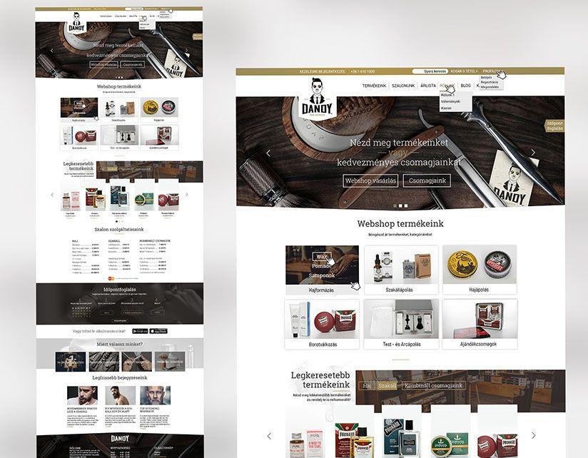 webdesign tervezés, weboldal készités munkák