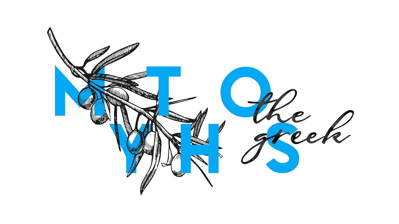 görög grafikai tervezés falra
