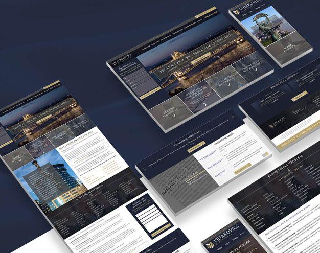 Webdesign, UX tervezes