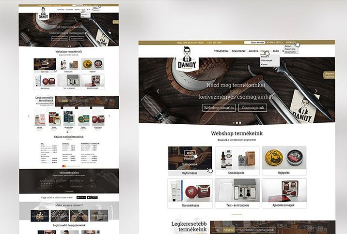 webdesign tervezes