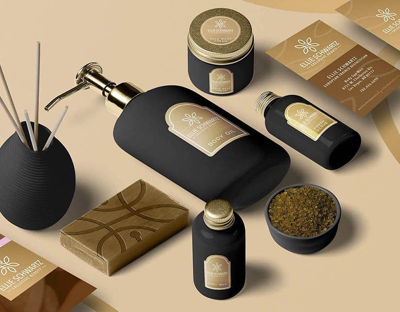 beauty szalon design arculat tervezes branding identity